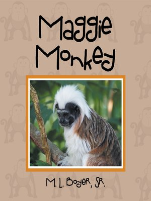 cover image of Maggie Monkey
