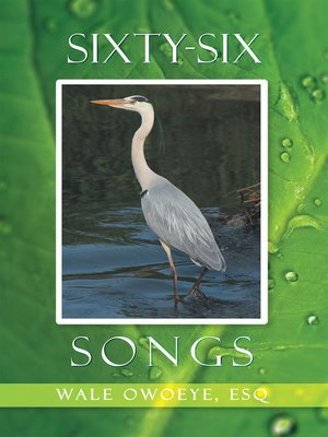 cover image of Sixty-six Songs
