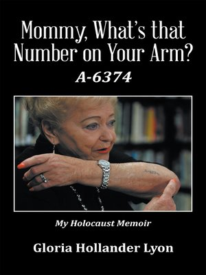 cover image of Mommy, What's That Number on Your Arm?