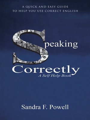 cover image of Speaking Correctly