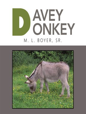 cover image of Davey Donkey
