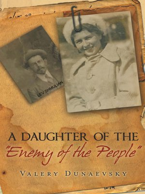 """cover image of A Daughter of the """"Enemy of the People"""""""