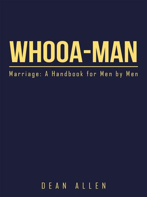 cover image of Whooa-Man