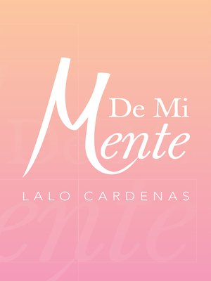 cover image of De Mi Mente