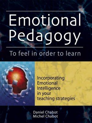 cover image of Emotional Pedagogy