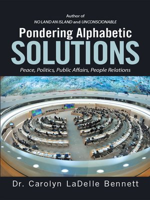 cover image of Pondering Alphabetic Solutions