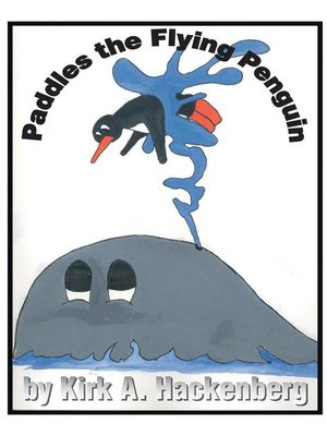 cover image of Paddles the Flying Penguin