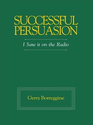 cover image of Successful Persuasion