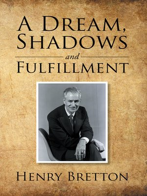 cover image of A Dream, Shadows and Fulfillment