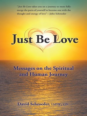 cover image of Just Be Love