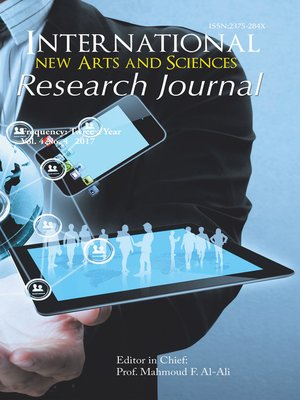 cover image of International New Arts and Sciences Research Journal