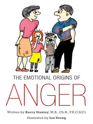 cover image of THE EMOTIONAL ORIGINS OF ANGER
