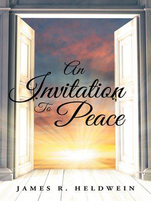 cover image of An Invitation to Peace