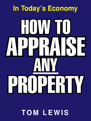 cover image of How to Appraise Any Property