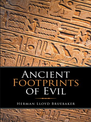 cover image of Ancient Footprints of Evil