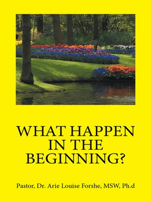 cover image of What Happen in the Beginning?