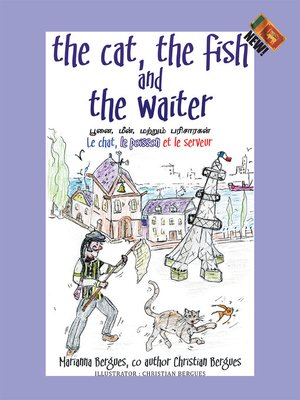 cover image of The Cat, the Fish and the Waiter (English, Tamil and French Edition) (A Children's Book)
