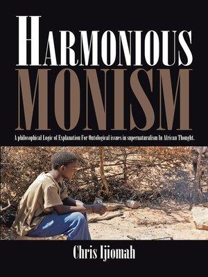cover image of Harmonious Monism