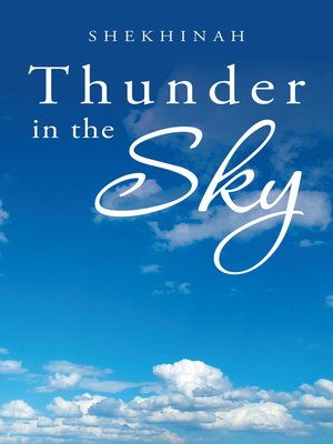 cover image of Thunder in the Sky