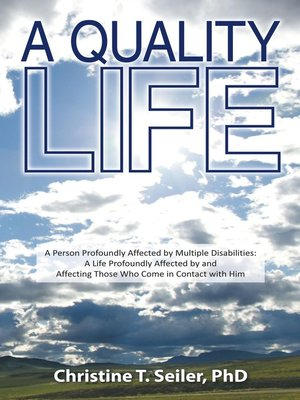 cover image of A Quality Life