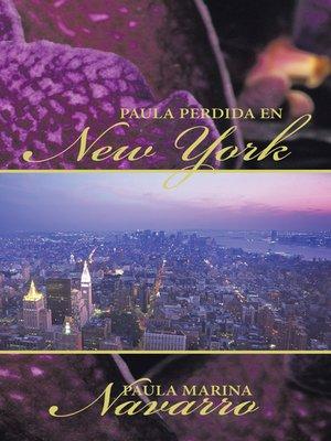 cover image of Paula Perdida En New York