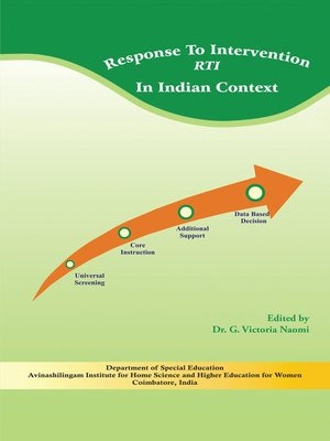 cover image of Response to Intervention (Rti)