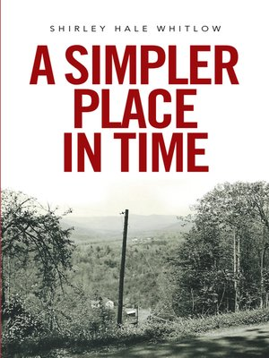 cover image of A Simpler Place in Time