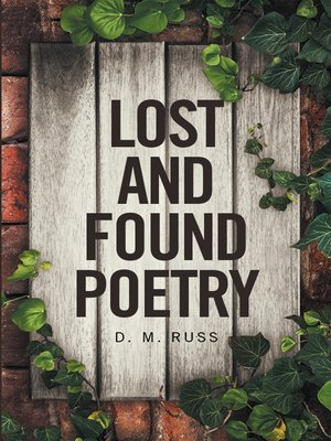 cover image of Lost and Found Poetry