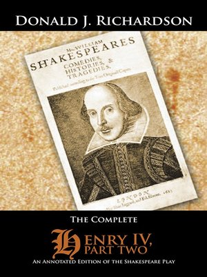cover image of The Complete Henry IV, Part 2