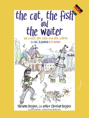 cover image of The Cat, the Fish and the Waiter (German Edition)
