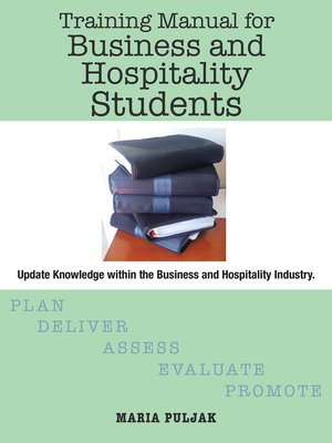 cover image of Training Manual for Business and Hospitality Students