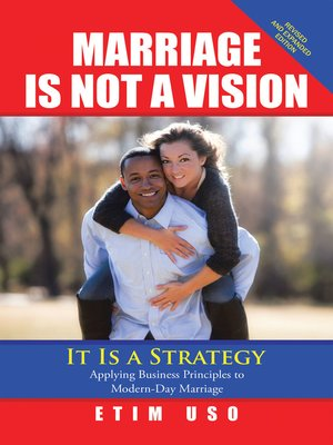 cover image of Marriage Is Not a Vision It Is a Strategy