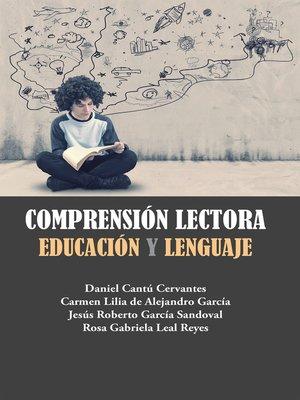 cover image of Comprensión lectora