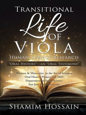 cover image of Transitional Life of Viola