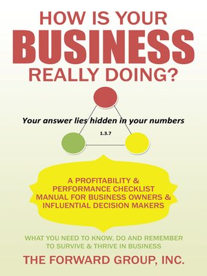 cover image of How Is Your Business Really Doing?