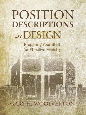 cover image of Position Descriptions By Design