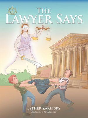 cover image of The Lawyer Says