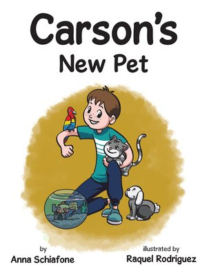 cover image of Carson'S New Pet