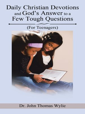 cover image of Daily Christian Devotions and God's Answer to a Few Tough Questions