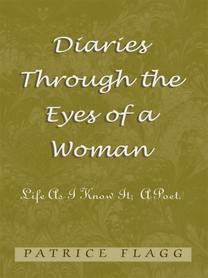 cover image of Diaries Through the Eyes of a Woman