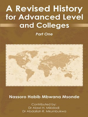 cover image of A Revised History for Advanced Level and  Colleges
