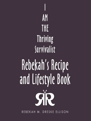 cover image of Rebekah's Recipe and Lifestyle Book