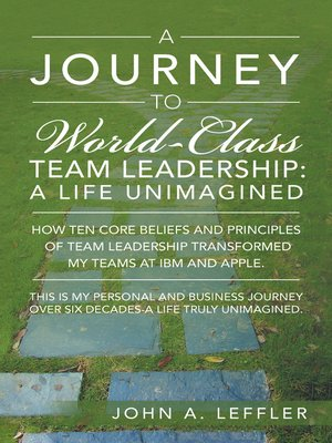 cover image of A Journey to World-Class Team Leadership