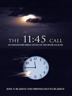 cover image of The 11:45 Call