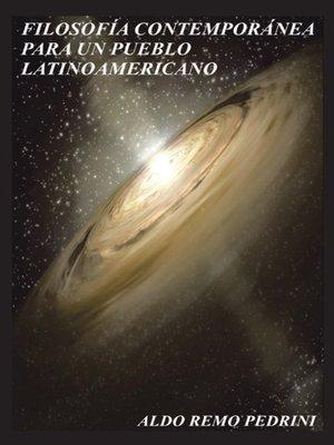 cover image of Filosofía Contemporánea Para Un Pueblo Latinoamericano...