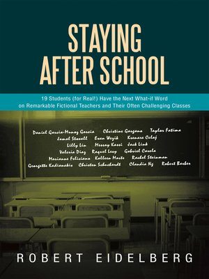 cover image of Staying After School