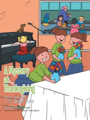cover image of A Mystery at Thanksgiving