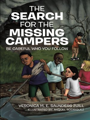 cover image of The Search for the Missing Campers