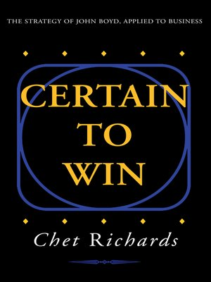 cover image of Certain to Win