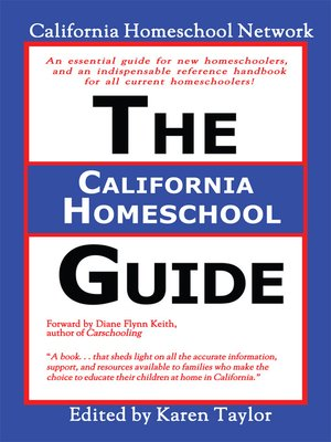 cover image of The California Homeschool Guide--